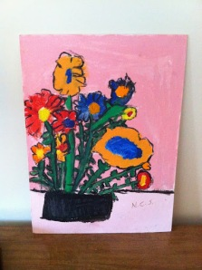 Nancy's First Painting